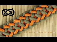 How to weave the Grin of a Wolf Paracord Bracelet Paracord Bracelet Instructions, Paracord Tutorial, Bracelet Tutorial, Paracord Braids, Paracord Knots, Paracord Bracelets, Daisy Bracelet, Bracelet Knots, Make Your Own Bracelet
