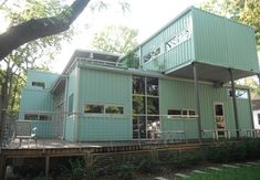Shipping Container Homes with Basement