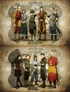 I'd totally watch a tv show of the original team avatar as adults. I'd totally watch a tv show of the original team avatar as adults. Avatar Aang, Avatar Airbender, Avatar Legend Of Aang, Avatar The Last Airbender Funny, The Last Avatar, Team Avatar, The Legend Of Korra, Avatar Cartoon, Avatar Funny