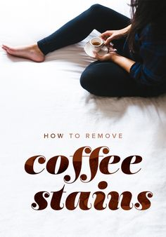 Here's to how to remove coffee stains from clothes like shirts or carpet. It's easy to clean if you use these product recommendations.