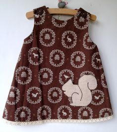 Brown Squirrel Pocket Jumper, reversible