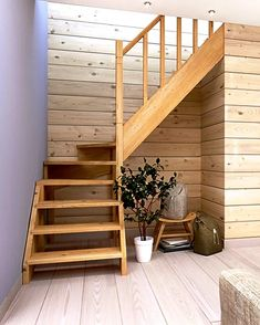 Living Room Partition Design, Room Partition Designs, Home Stairs Design, House Design, Attic Renovation, Attic Rooms, House Stairs, Diy Home Decor, Ideas