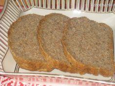 Celozrnný špaldový chlebík so semienkami chia(fotorecept)