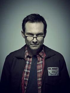 Christian Slater as Mr. Robot
