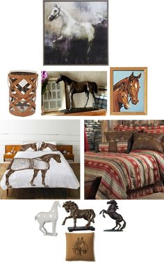 """""""Horse Decor For Home"""" by uniqueheart on Polyvore"""