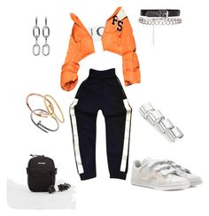 """Untitled #195"" by cryamilet19 on Polyvore featuring adidas, Chanel, Alexander Wang, Maison Margiela and Cartier"
