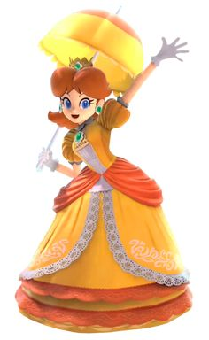 I know, I already uploaded another image of Daisy from Smash, but I'm just so happy she's in that I won't stop. This is an image from the trailer that I. Daisy from Smash Ultimate (No. Super Mario Bros, Super Mario Games, Super Mario Brothers, Super Smash Bros, Mario Kart, Mario Bros., Princesa Peach Cosplay, Metroid, Princess Daisy Costume