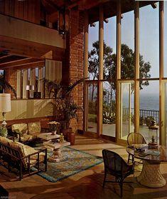 Stunning Pajama Lounge Room Design Ideas 370 Source by Retro Interior Design, Interior Modern, 1980s Interior, Design Exterior, 70s Home Decor, Mid Century House, Mid Century Rug, Mid Century Design, Mid-century Modern