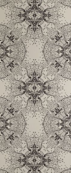 Antique Lace Wallpaper 10788 | Catherine Martin Wallpaper for Mokum | Mokum Textiles Wallpaper Australia