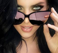 415dbf18f8 Flat Top Cat Eye Sunglasses Cat Eye Frames, Women's Sunglasses, Vintage  Sunglasses, Luxury