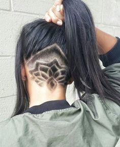 20 Undercut Haar Tattoo Ideen für Mädchen #ideen #madchen #tattoo #undercut