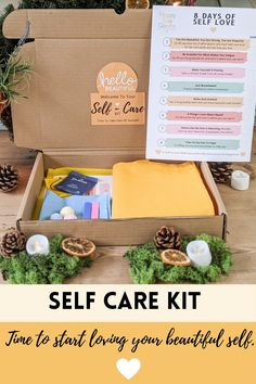 Self care kitSelf care boxSelf care package Care Package her Care package FriendSelf care gift box Stress care package Happiness kit New mom care package Self love Care Package Friend Break up Care Package I miss you Self care journal Treat yo self Anxiety kit Relaxation kit Happiness kit Birthday gift box Thank you gift box Thinking of you Gratitude journal Bath Bomb Gift SET Treat Box Self Discovery Quotes, Anxiety Self Help, Self Love Books, Journal Questions, Motivational Blogs, Treat Box, Love Tips, Self Care Routine, Bath Bomb