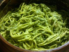 RAW Pea Pesto Noodle Doodles! BY: Jodie Barber for the FullyRawKristina Recipe Competition!! :)