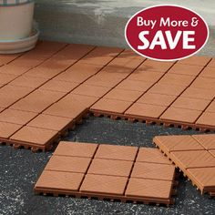 Delightful Build Your Patio In No Time!Make The Smart Choice For An Easy To Assemble
