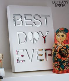 Best Day Ever Shelf Décor - Aéropostale®