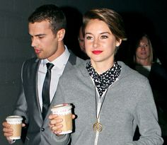 Theo James and Shailene Woodley pic from US Weekly  Lips <3
