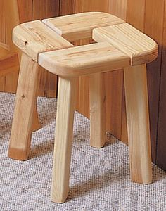 Sauna stools by Springs Sauna Company. Sauna accessories.