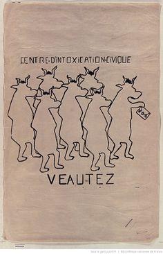 [Mai 1968]. Centre d'intoxication civique. Veautez. UDR. Faculté des Sciences : [affiche] / [non identifié]