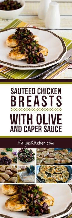 Sauteed Chicken Breasts with Olive and Caper Sauce are an easy work ...