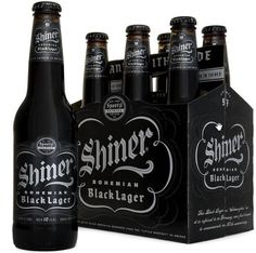 Shiner Black Lager, awesome and smooth!