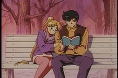 Mamoru and Usagi - Darien y Serena en Sailor Moon S: El amor de la Princesa Kaguya