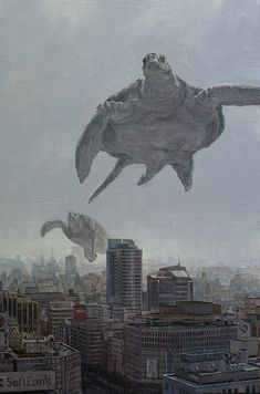 When giants walked the earth, Shuichi Nakano
