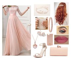 A fashion look from December 2015 featuring pink gown, strap heel sandals and kisslock bag. Browse and shop related looks. Daughter Of Zeus, Windsor Smith, Prom Dresses, Formal Dresses, New Outfits, Tory Burch, Henri Bendel, Ted Baker, Pretty