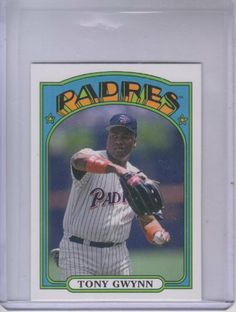 2013 Topps 1972 Topps Minis #TM43 Tony Gwynn by Topps. $1.20. 2013 Topps Co. trading card in near mint/mint condition, authenticated by Seller