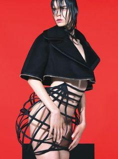 Living Large - Photo by Mert Alas & Marcus Piggott, styled by Edward Enninful; W Magazine September 2012