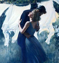 Harry Anderson painting