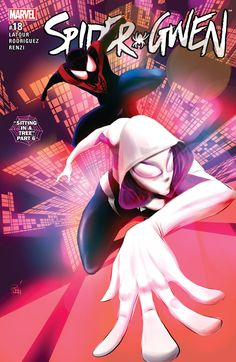 The conclusion to this crossover was a positive one that made the most out of its characters.  Gwen Stacy, Jason Latour, Marvel, Marvel Comics, Miles Morales, review, Rico Renzi, Robbi Rodriguez, Spider-Gwen, Spider-Gwen #18, Spider-Ham, Spider-Man, Spider-Woman