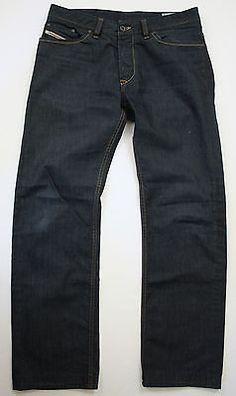 bece20541d9 Diesel Viker Denim regular fit 34 x 33 straight leg Mens Jeans Made in  Italy Carburetor