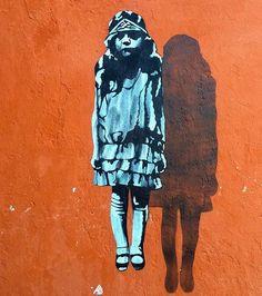 """""""Ghost Girl"""" by JPS in Stavanger, Norway, 10/15 (LP)"""