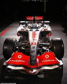 Mclaren MP4-23. Formula1 2008.  Finished 2nd in the championship.