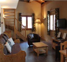 Apartment_rental_residence_Vallorcine_Chamonix_ Mont_Blanc : Two bedrooms_DUPLEX 4-6 PERSONS - 60m2