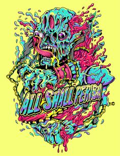All Shall Perish t-shirt artwork