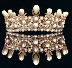 The Queen of the Moon Children (or Princess Eugenie's crown; wedding gift from hubby Napolean III)