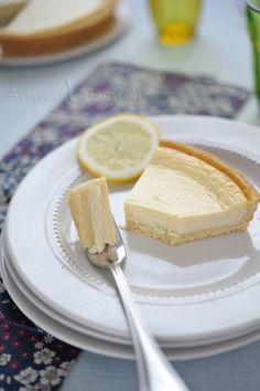 Tarte au fromage blanc et citron