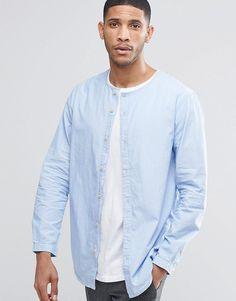 ADPT Collarless Shirt