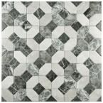 Merola Tile, Caprice Marmol Gris 17-3/4 in. x 17-3/4 in. Ceramic Floor and Wall Tile (15.75 sq. ft. / case), FAP18CMG at The Home Depot - Mobile
