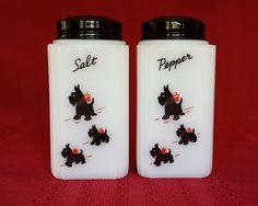 Rare Vintage Tipp USA Scottie Scotty Salt Pepper Shaker Set by RainsandCo on…