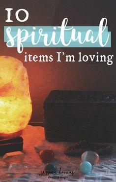 10 spiritual items I'm loving right now