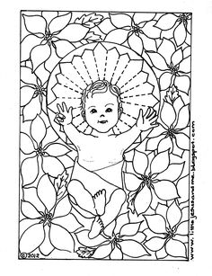 Catholic Christian coloring pages of Holy Spirit, Lamb of God, San Juan Capistrano and PAX Vobiscum.