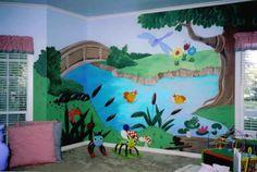 playroom mural ideas   Cori's New Room (In Progress!)