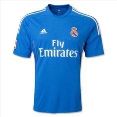 Real Madrid Adidas Away Football Shirt Real Madrid Football Club, World Football, Messi, Real Madrid Shirt, Real Madrid Blue Jersey, Royal Blue Shirts, World Soccer Shop, Football Shirts, Soccer Jerseys