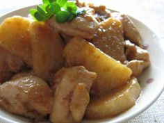 鶏肉と長芋の照り煮の画像