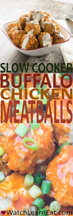 These Slow Cooker Buffalo Chicken Meatballs will satisfy your Buffalo sauce crav. - - These Slow Cooker Buffalo Chicken Meatballs will satisfy your Buffalo sauce crav. Buffalo Chicken Meatballs, Crock Pot Meatballs, Breaded Chicken, Bbq Chicken, Chicken Cooker, Slow Cooking, Best Appetizers, Appetizer Recipes, Chicken Appetizers
