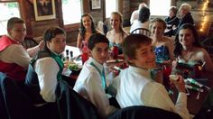 8th Grade Formal May 2014 at the Amis Mill Eatery