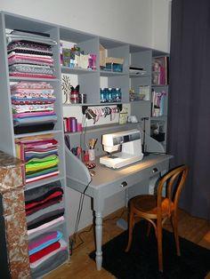 """Résultat de recherche d'images pour """"amenager bureau couture"""""""