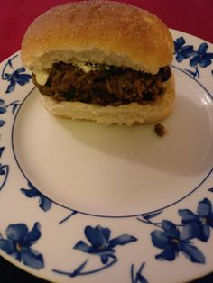Veggie Burgers - mushrooms, rice, spices